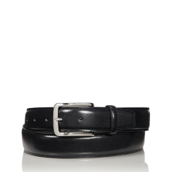 Tumi Contrast Edge Leather Belt Accessories